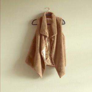 philosophy faux fur vest